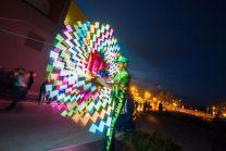 LED UV Show
