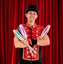 Zirkus Stoffl Kindergeburtstag Zirkusshow