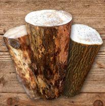 Baumstamm nageln Holzstocknageln