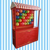 Jahrmarktstand Luftballone