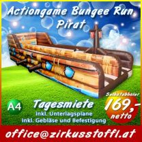 Actiongame Bungee Run Pirat