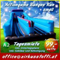 Hüpfburg Bungee Run
