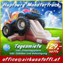 Hüpfburg Monster Truck