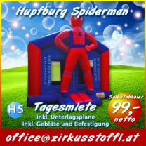 Hüpfburg Spiderman