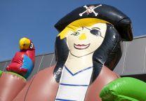 Hüpfburg Pirat