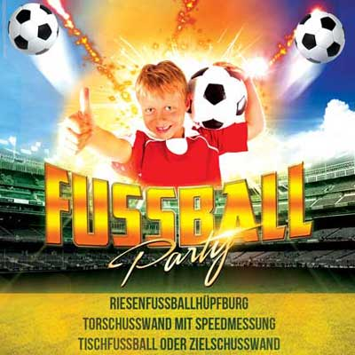 Fussballparty