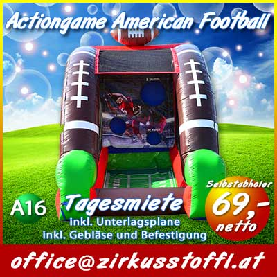 Actiongame American Football