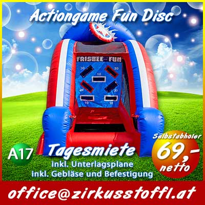 Actiongame Fun Frisbee Game
